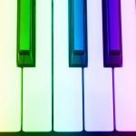 700-553915 © Boden/Ledingham Close-Up of Piano Keys